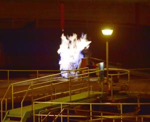 Billings firefighters extinguish methane fire at wastewater treatment plant