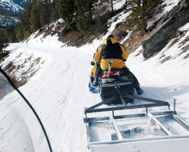 Grooming Provides Better Trail Experiences — Cross Country ...  Cross Country Ski Trail Grooming