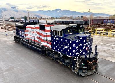 Montana Rail Link locomotive