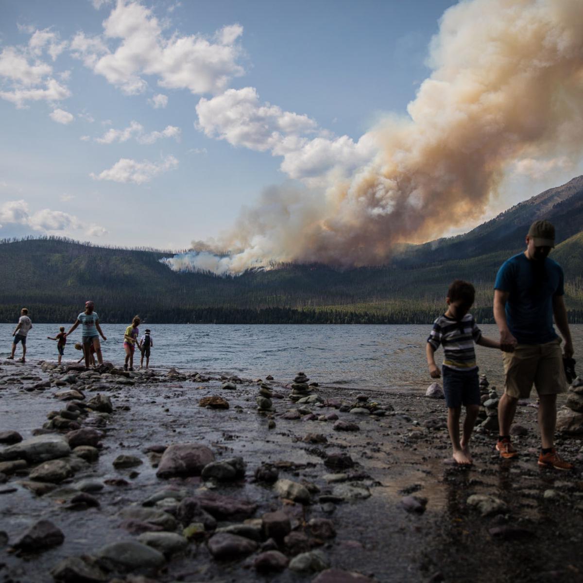 Lake Mcdonald Lodge >> Lake Mcdonald Lodge Closes For Season Evacuation Warnings In