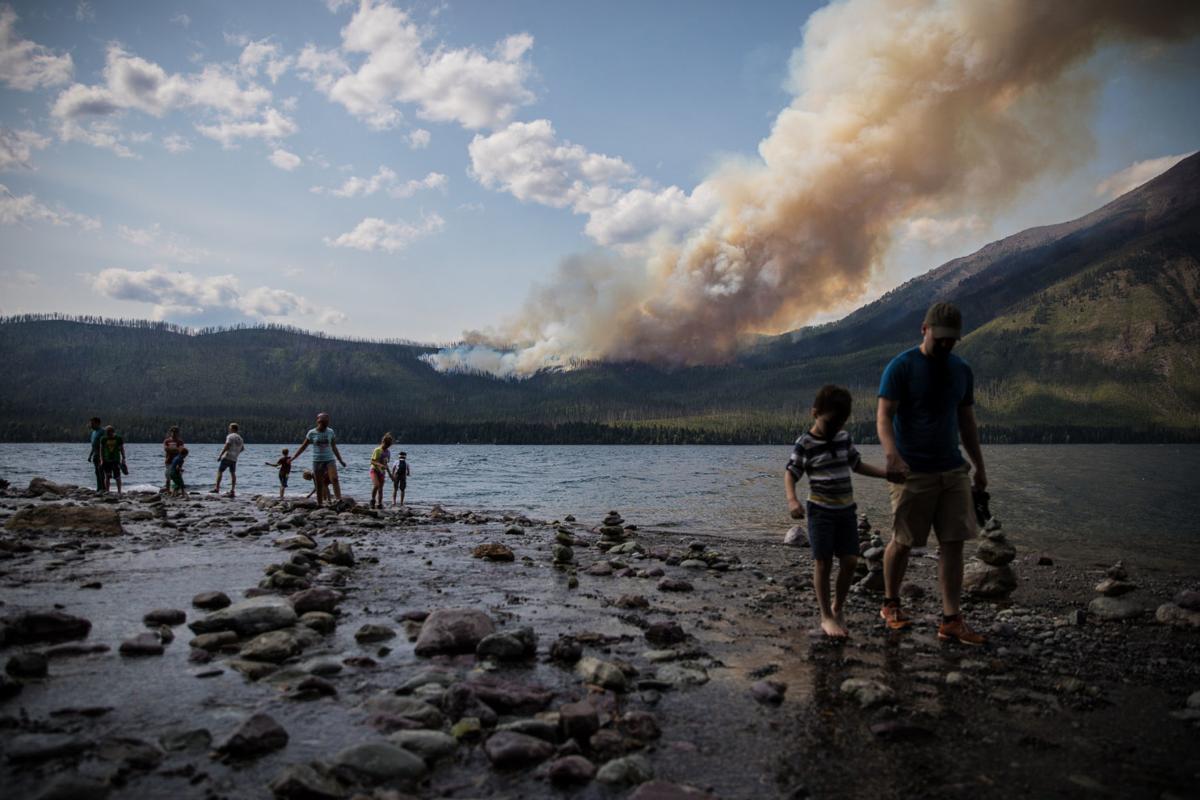 The Howe Ridge fire
