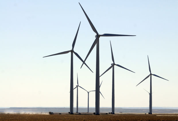 Judith Gap wind power turbine