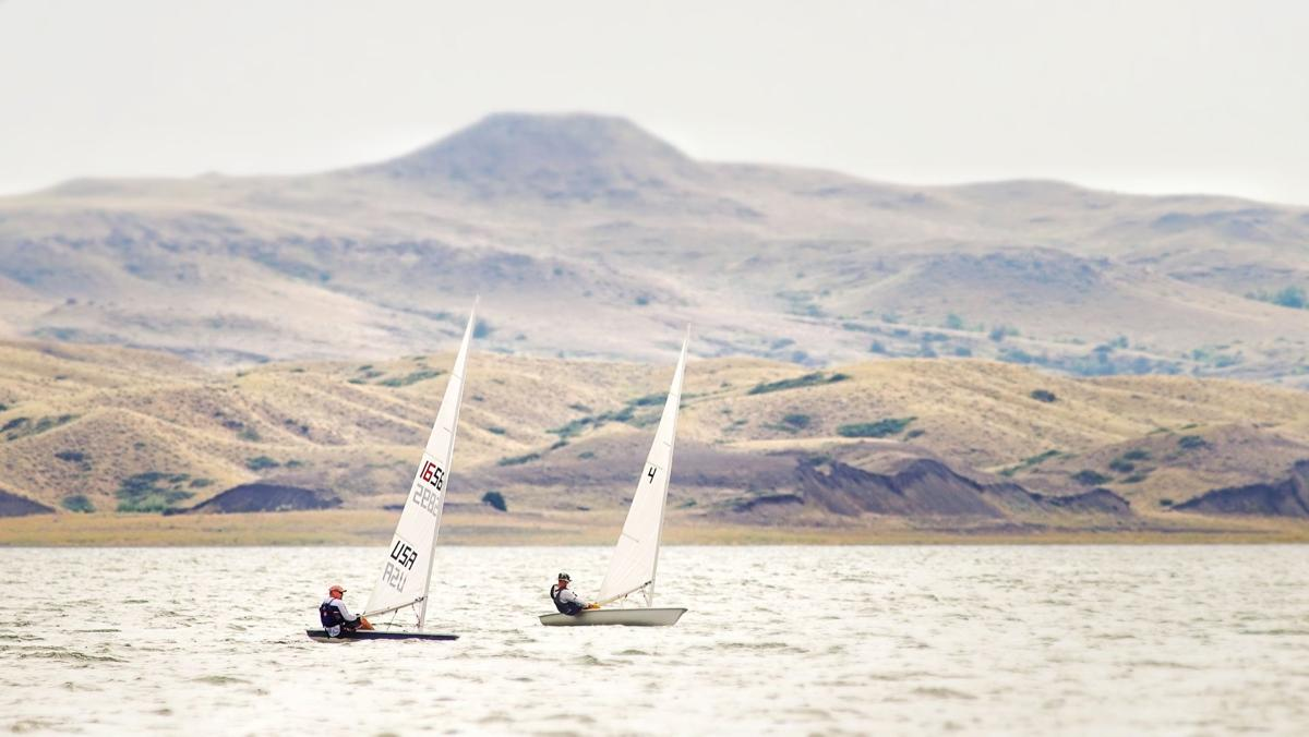 Fort Peck sailing 3
