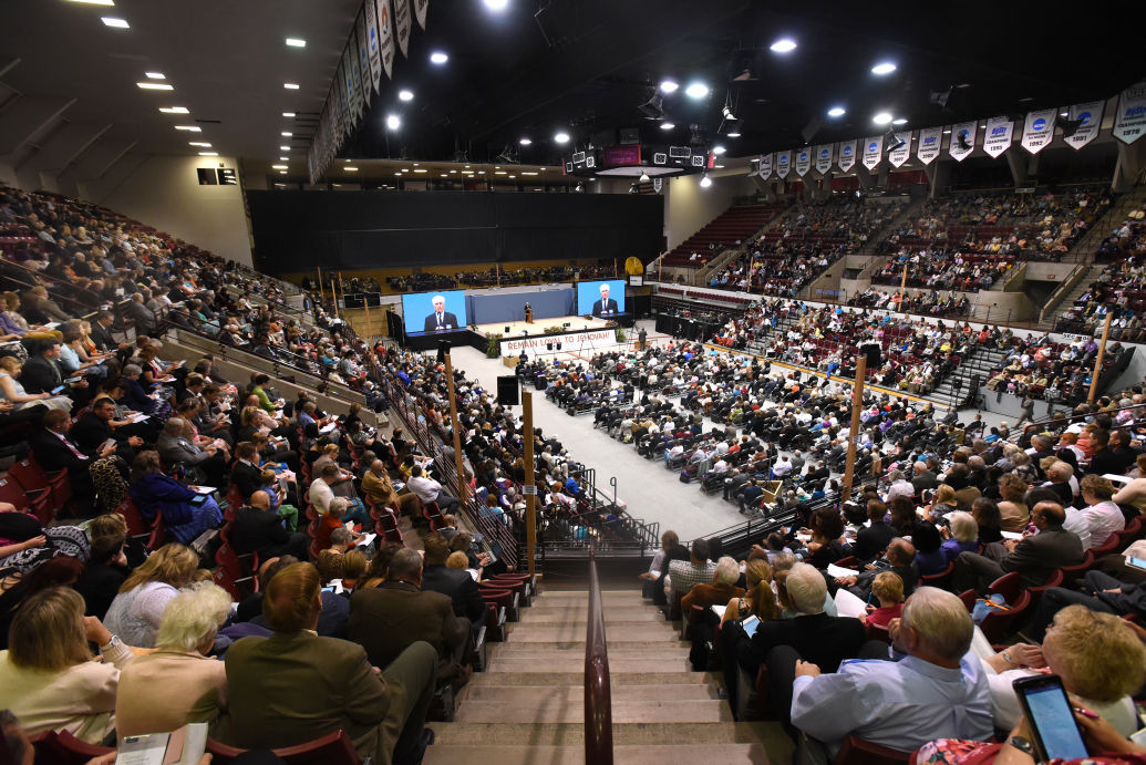 Jehovah S Witness Regional Convention Centers On Loyalty