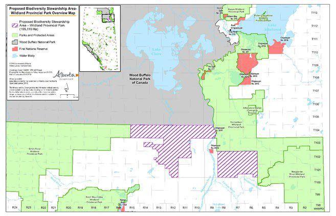 Wood Buffalo Biodiversity Stewardship Area