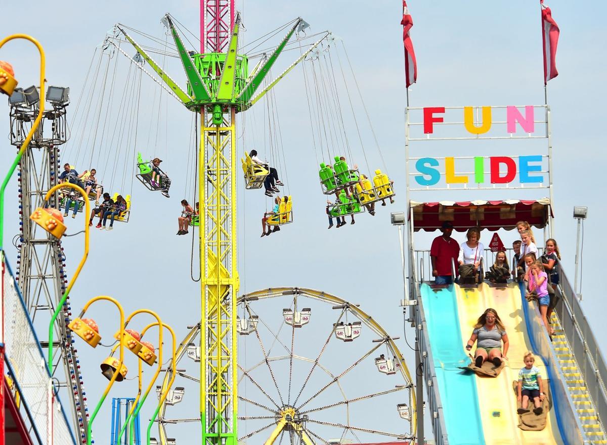 Carnival rides in 2018