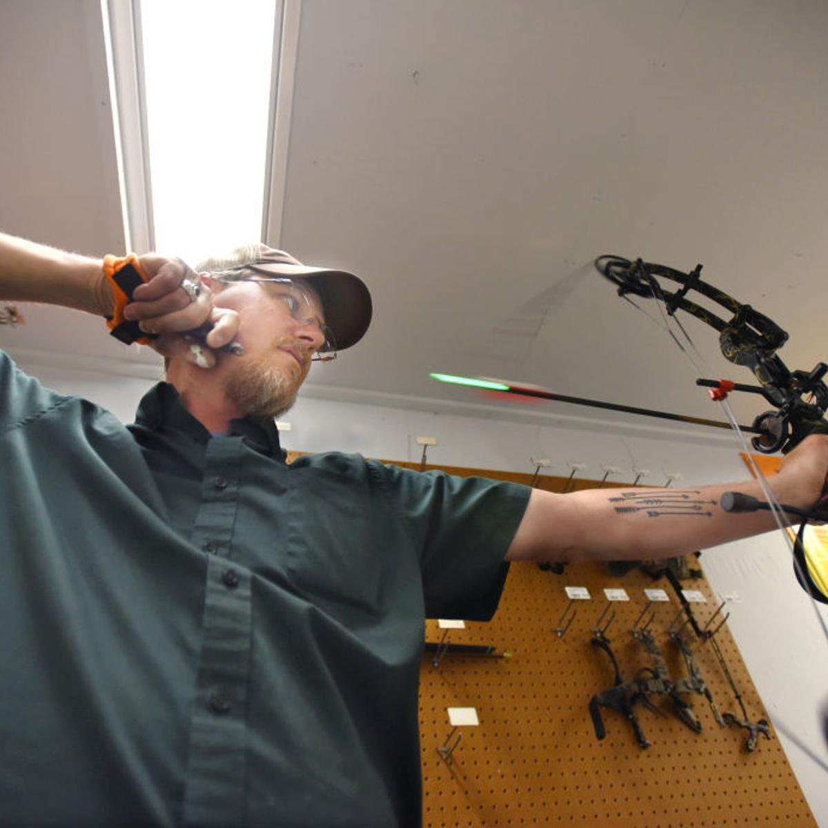 Drawing a line: Technology roils the air around archery