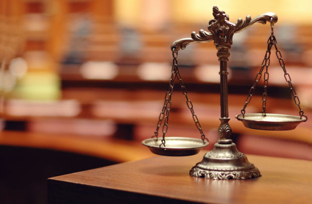 justice law scales stockimage