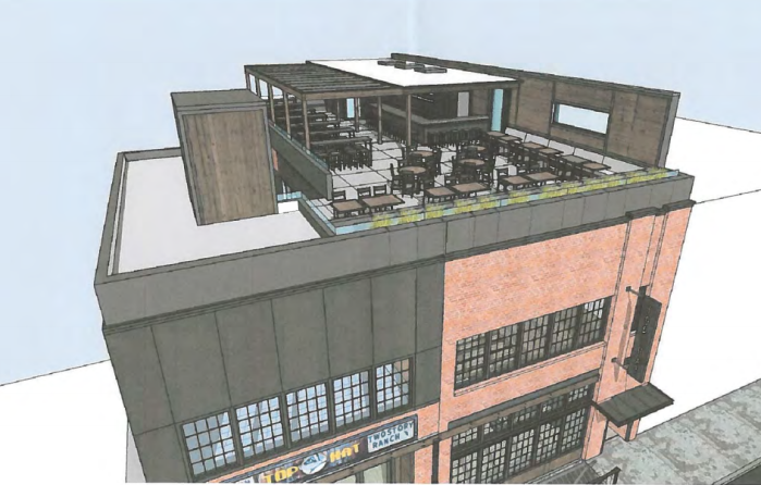 Top Hat Lounge Applies For Permit To Build Rooftop Deck