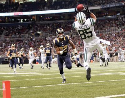 New York Jets wide receiver Chaz Schilens