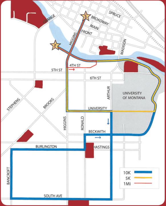 Riverbank Run Map