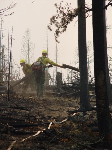 Chrandal Creek fire
