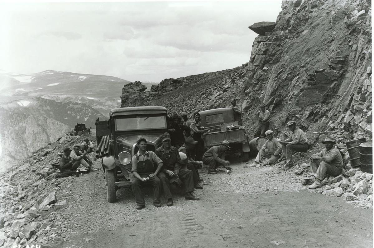 Image result for beartooth highway construction