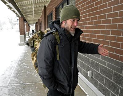 Homeless Outside