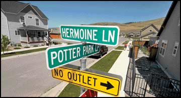 Windsor Park: Lack of character - Not everyone is amused with Hermione Lane misspelling in Potter-themed neighborhood