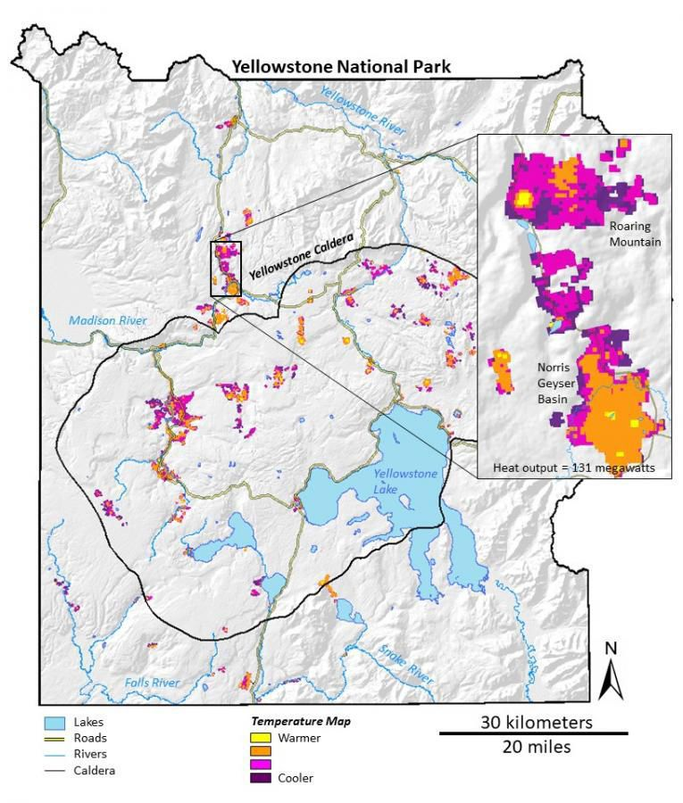 an overview of the remotely sensed data in the yellowstone national park Carbon fluxes in ecosystems of yellowstone national park predicted from remote sensing data and simulation modeling christopher potter, steven a klooster, robert.