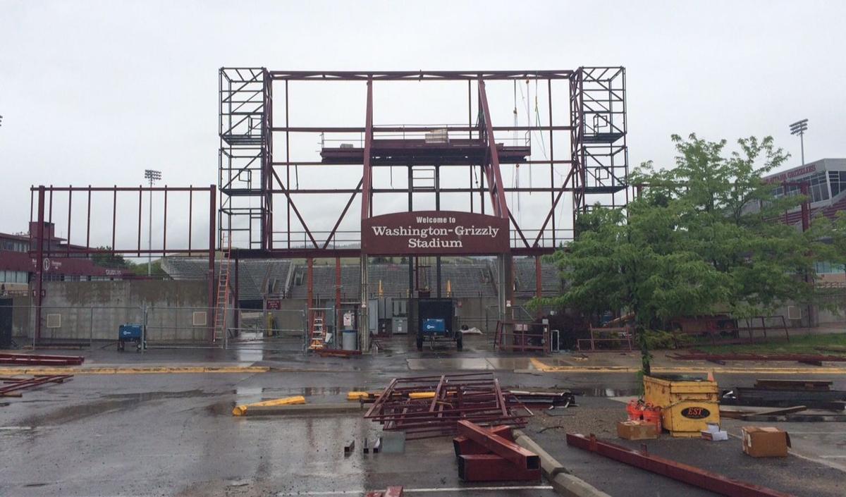 GrizVision scoreboard construction