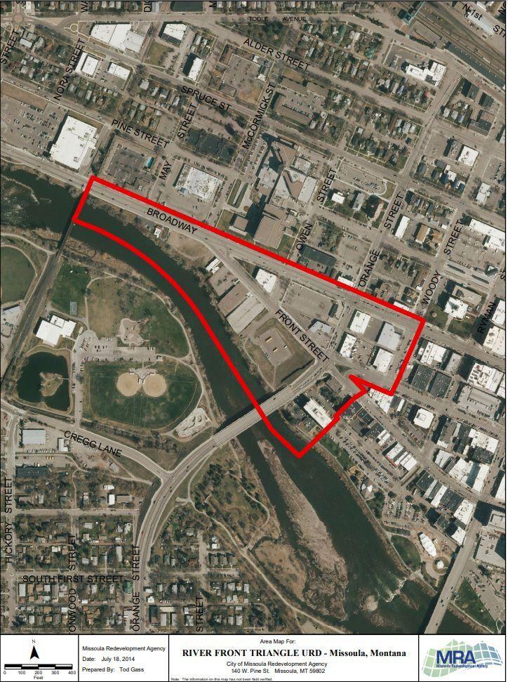 Riverfront Triangle URD