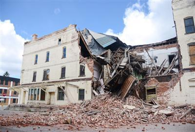 Butte warehouse collapse