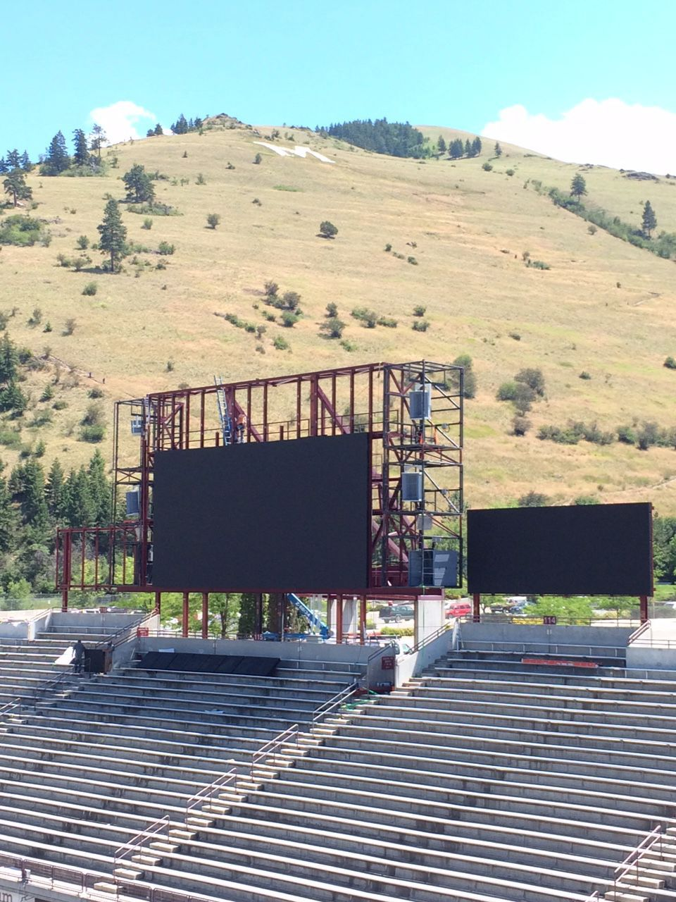 Scoreboard Construction 1