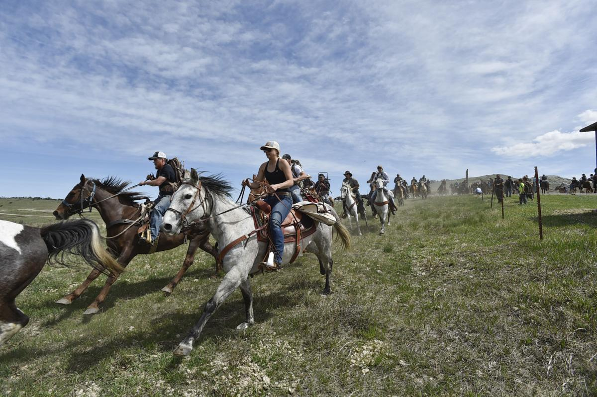 Riders on horseback