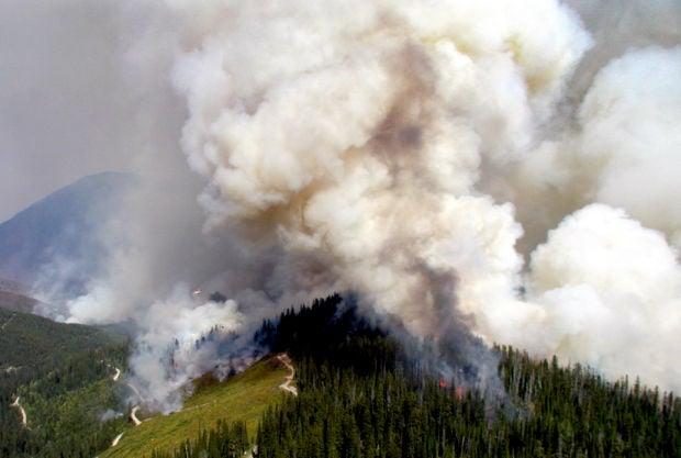 081813 Glacier Park Fires