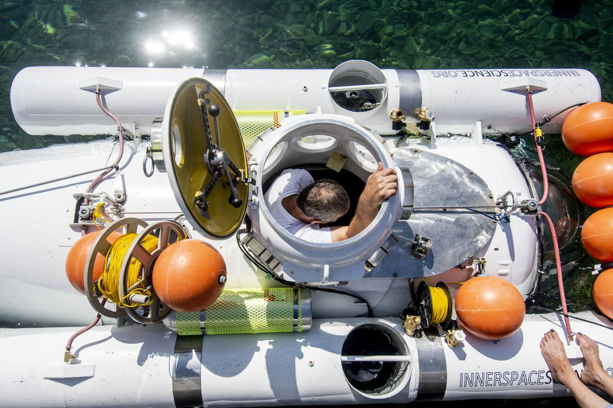 Research submarines launch in Flathead Lake | State & Regional