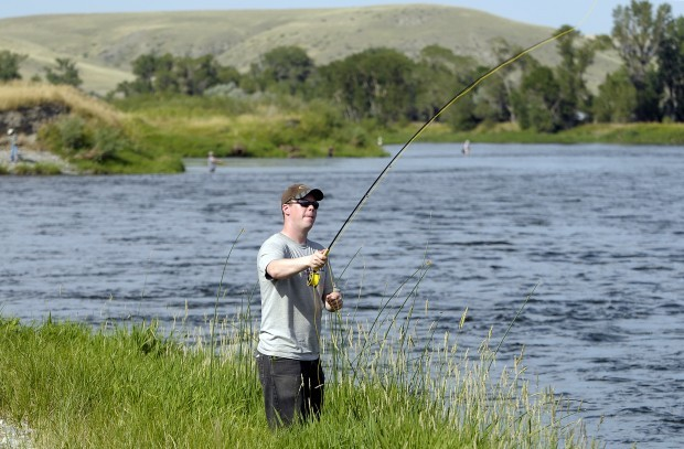 Healing waters offers serenity to soldiers territory for Blackhawk fly fishing