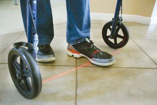 Visual cues can help Parkinson's patients