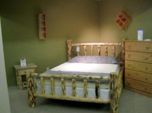 Log Bedroom Set
