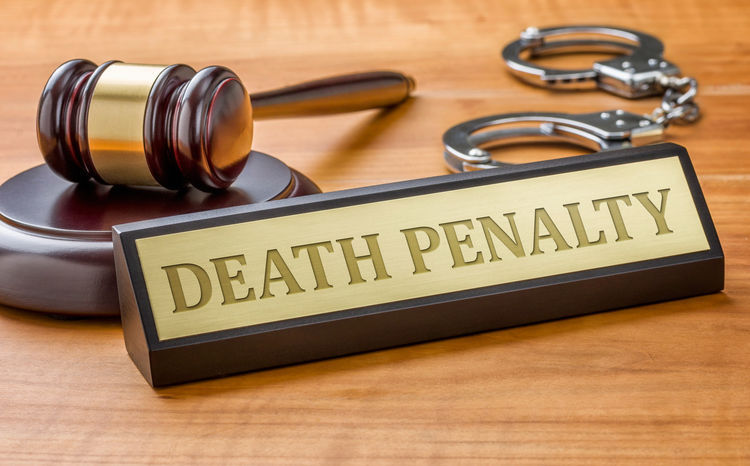 death penalty stockimage