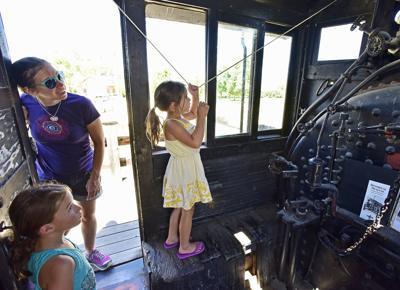 Fort Missoula locomotive No. 7