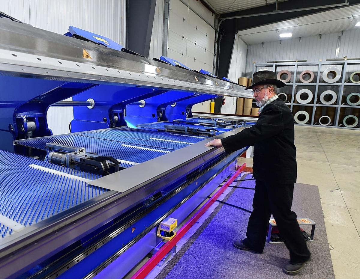 Exchange Hutterites-Steel Fabrication