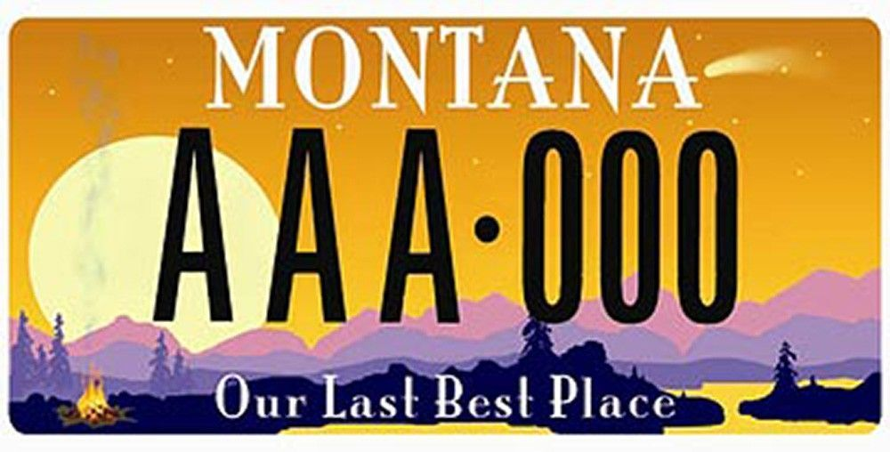 20 Montana license plate designs you probably don't see that often