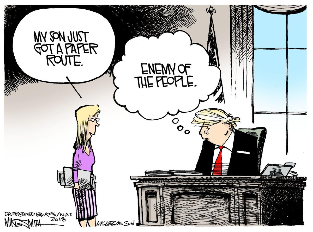 Paperboy now 'enemy of the people'