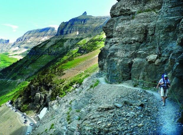 Glacier S Highline Trail Memorable Despite Its Crowds