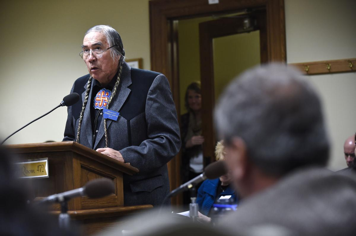 Rep. George Kipp III (D-Heart Butte) introduces HB486