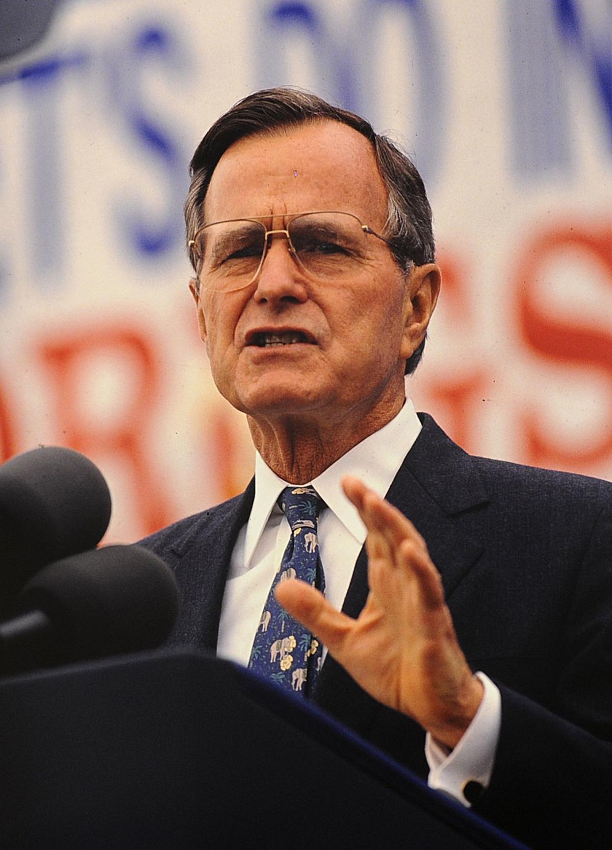 Bush in Billings