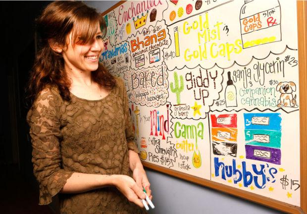 La Brea Compassionate Caregivers manager Megan Hanley