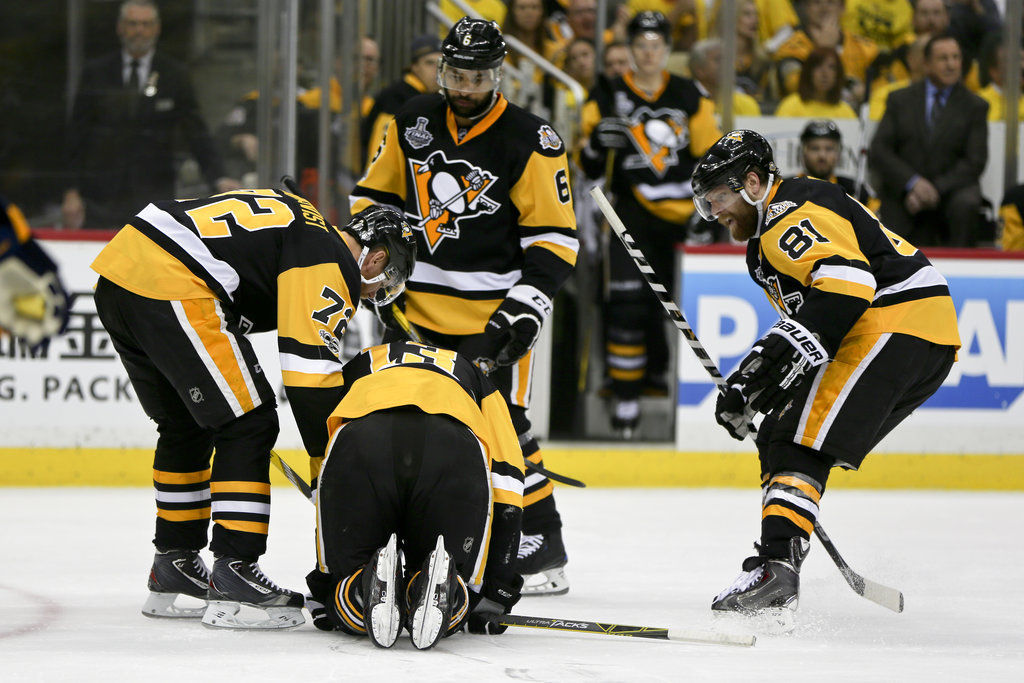 Stanley Cup Predators Penguins Hockey (MIS web only)