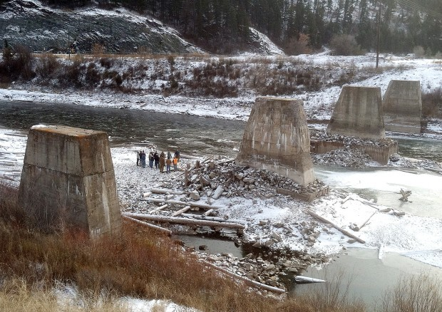 State Ponders Ways To Remove Concrete Piers From Blackfoot