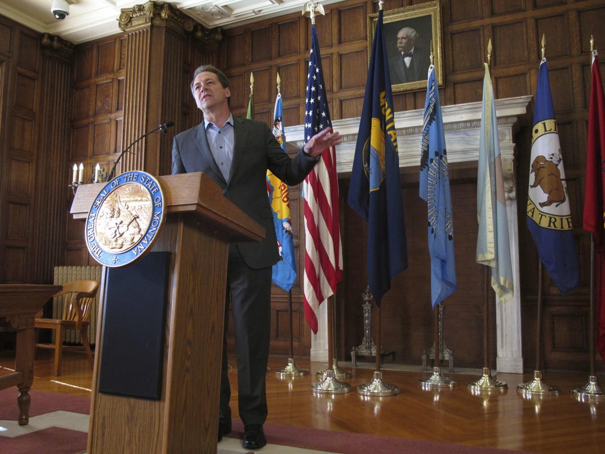 Gov. Steve Bullock executive order dark money