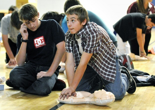 111611 school cpr class one