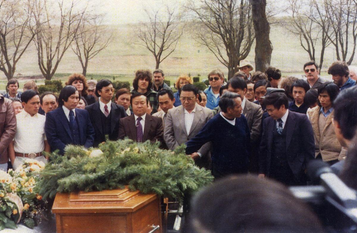 Jerry Daniels funeral 1982