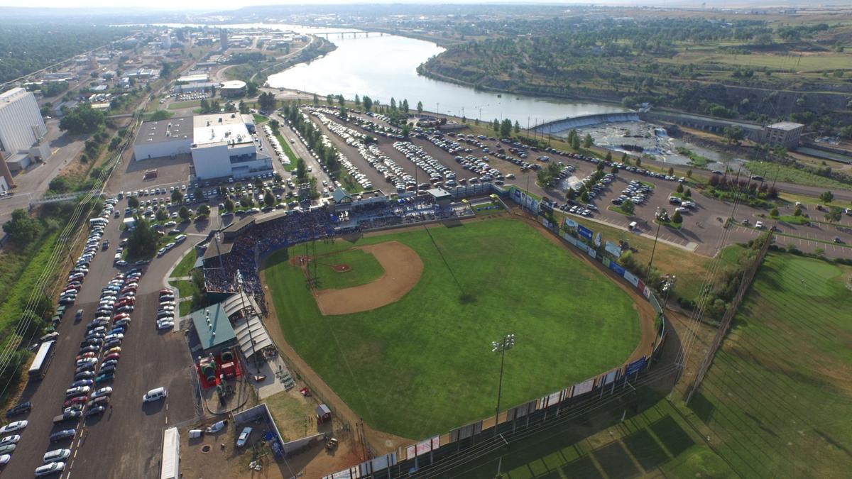 Aerial view of Centene Stadium