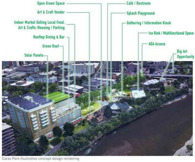 Caras Park plan