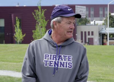Polson tennis coach Hislop