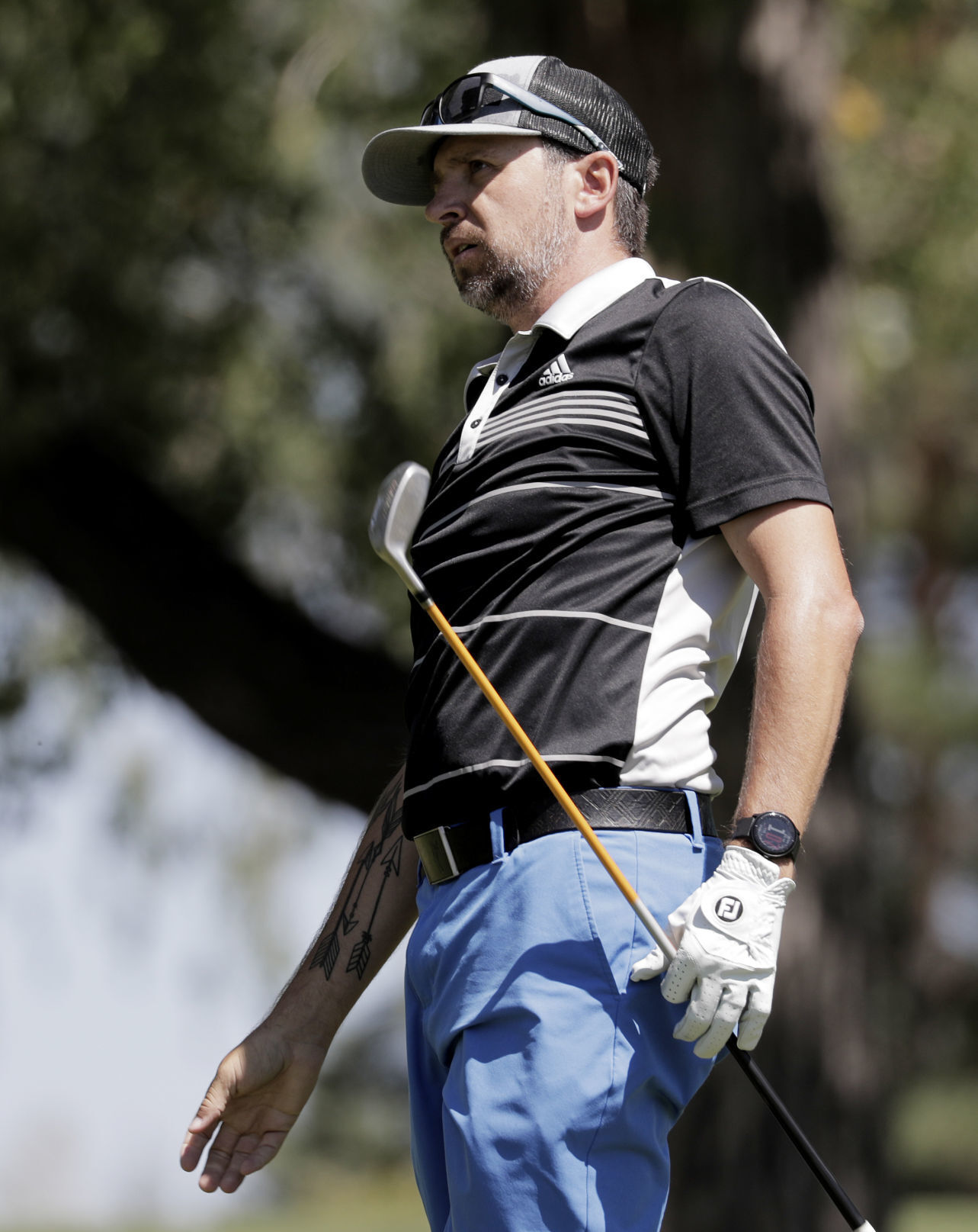Second-round 64 extends Nathan Bailey's Men's Mid-Am lead