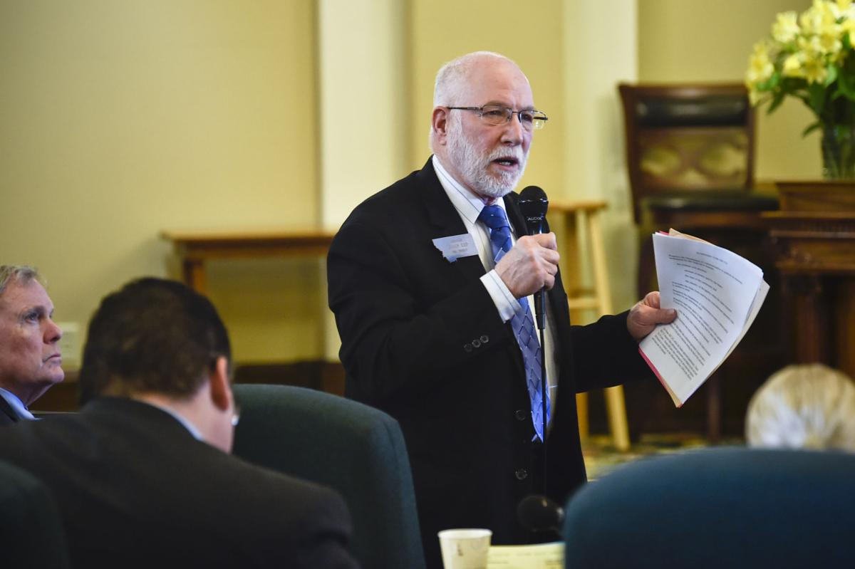 Sen. John Esp, R-Big Timber, who carried the bill in the Senate,