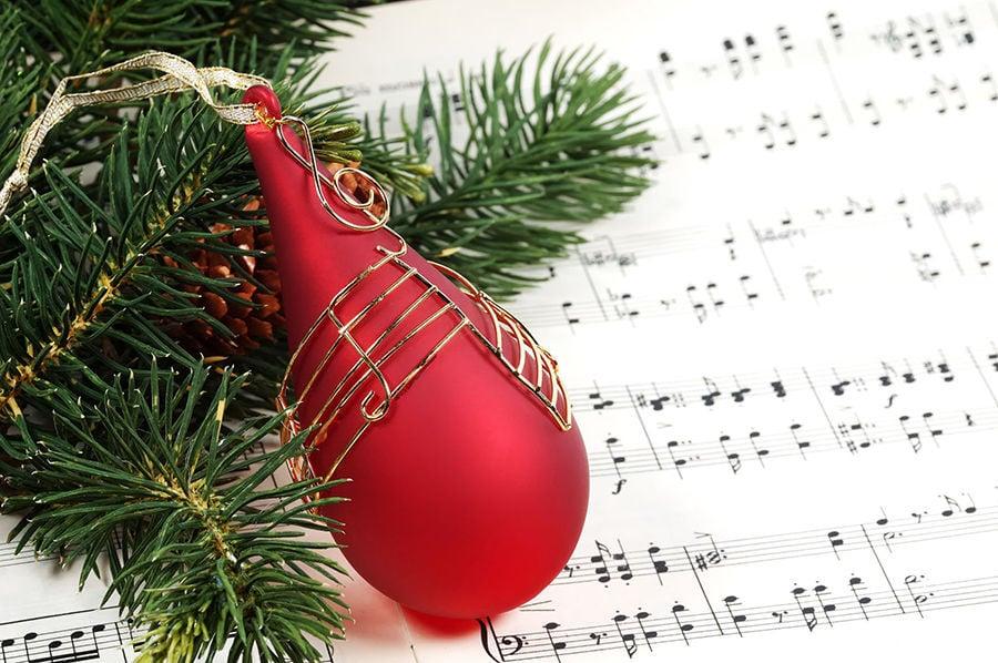 Christmas carol stockimage